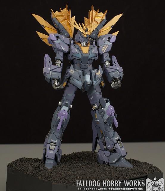 RG Unicorn Gundam 02 Banshee Norn (Lighting Model) 19