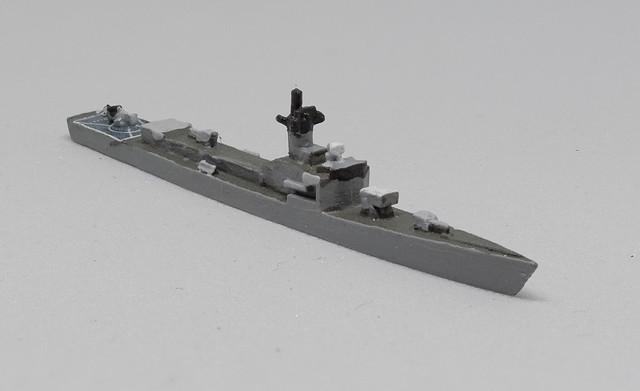 PFC C-in-C Garcia Frigate 1/2400 miniature