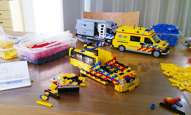 Dutch Mercedes Sprinter Ambulance WIP