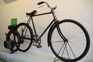 1914 Fahrrad mit MD-Schieberad _
