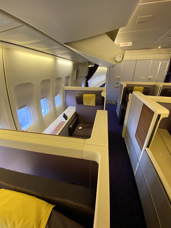 Thai Airways Royal First - BKK-HKT - Vue d'ensemble