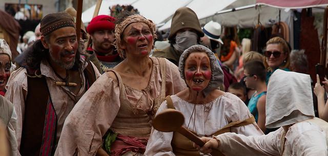 Medieval festival in Provins