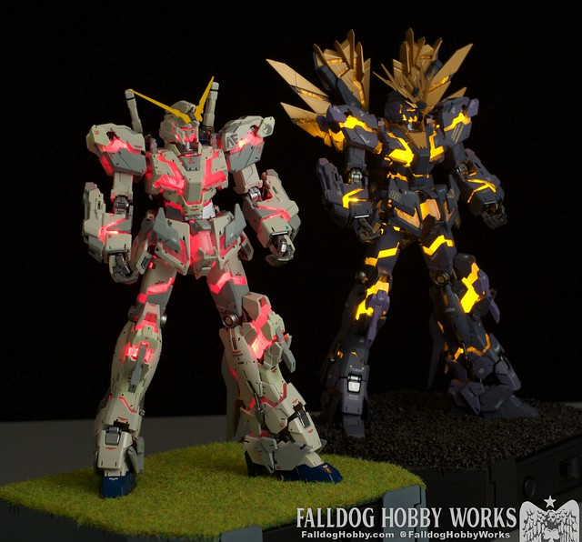 RG Unicorn Gundam 02 Banshee Norn (Lighting Model) 7