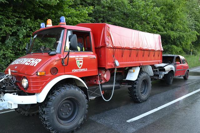 Fahrzeugbrand L401 07.06.2020