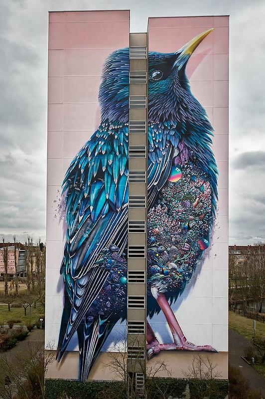 Urban Nation - One Wall - Collin van Der Sluijs & Super A