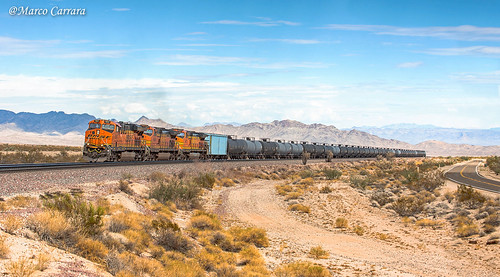 BNSF 7817 - Goffs CA - 13.09.2015