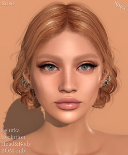 Lelutka Evolution skin - Rose | by Veronika Beningborough