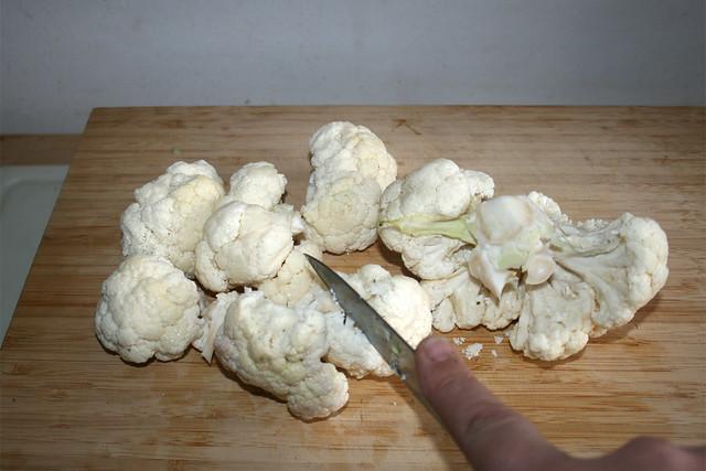04 - Blumenkohl zerkleinern / Hackle cauliflower