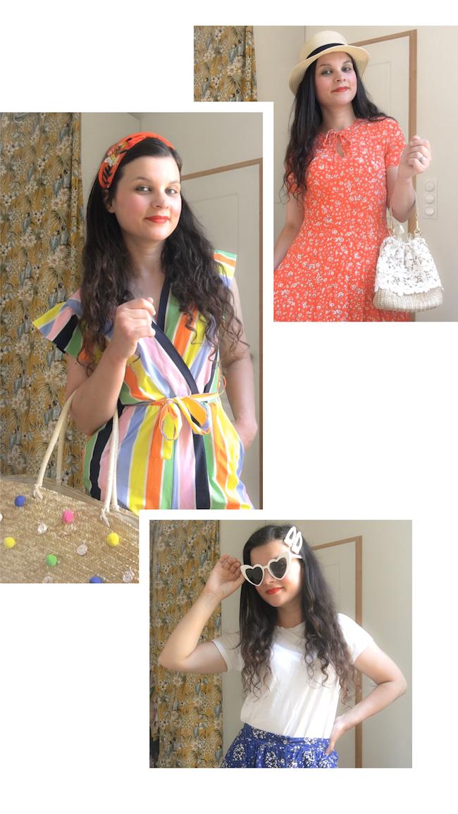3 idées de tenues estivales faciles à reproduire !