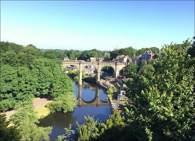 Knaresborough Viaduct - View from the castle