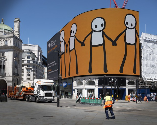 Stik Picadilly Circus June 2020