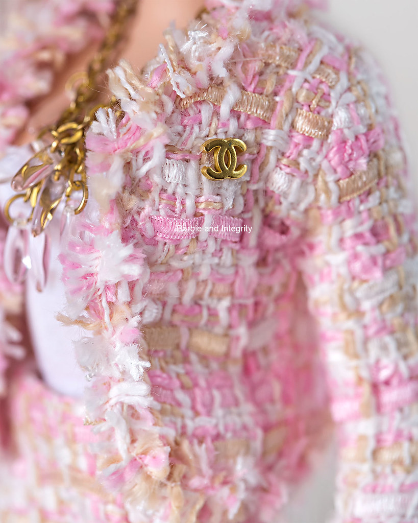 Barbie Chanel suit