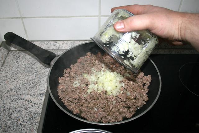17 - Zwiebeln addieren / Add onion
