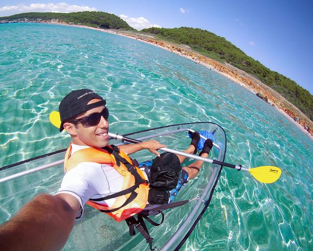 Menorca en Kayak y los mejores hoteles donde dormir barato