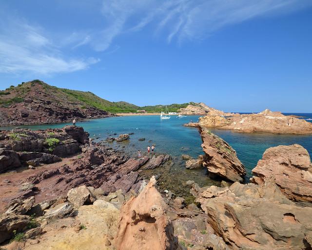 Cala Pregonda, as melhores enseadas do norte de Menorca