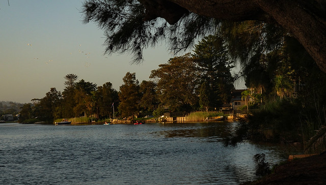 A Sleepy Lagoon. Ç'est le temps qui passe...