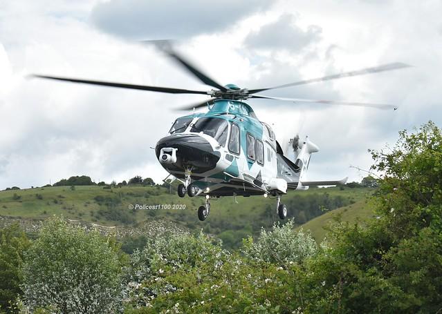 Kent Surrey Sussex Air Ambulance AW169 G-KSST