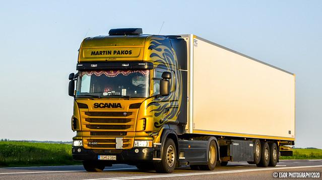 Scania R2 Topline R420 Martin Pakos (SK)