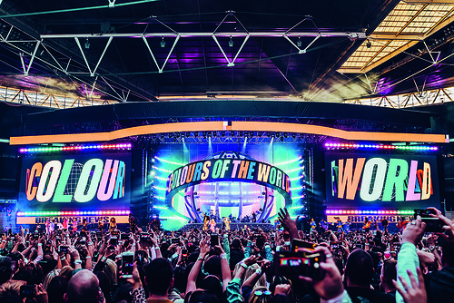 Live visuals for 'Spice World 2019', a UK and Ireland tour by The Spice Girls. Creative direction and production by Lee Lodge. Art direction by Kate Moross. Design by Harry Butt, Rachel Noble, Stephanie Fung, Berke Yazicioglu, Marianna Orsho, Christina Po