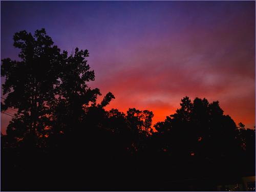 sunset sky clouds mariettaga photostevefrenkel rnifilmsapp iphonese 2020 trees