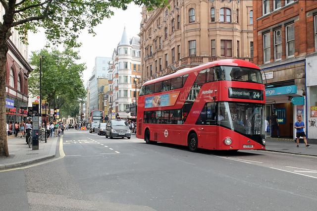 TFL LTZ 1108, Charing Cross