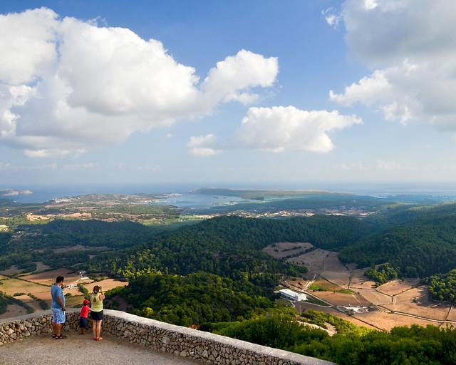 Mejor mirador de Menorca, el Monte Toro