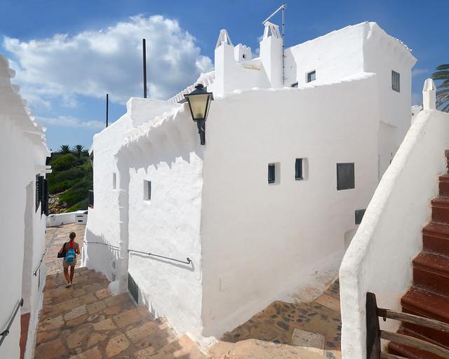 Pueblo de Binibeca en Menorca