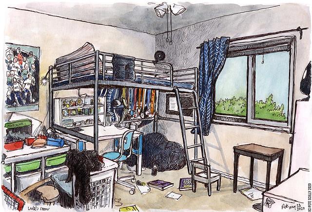 My son's bedroom 052820