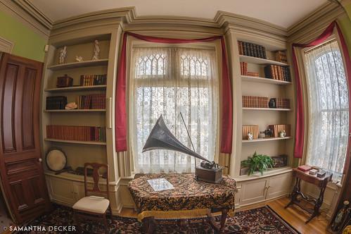 glensfalls phonograph warrencounty fisheye chapmanhistoricalmuseum upstate delonghouse newyork zopherdelong canoneos6d samanthadecker zenitarmc16mmf28fisheye ny unitedstates