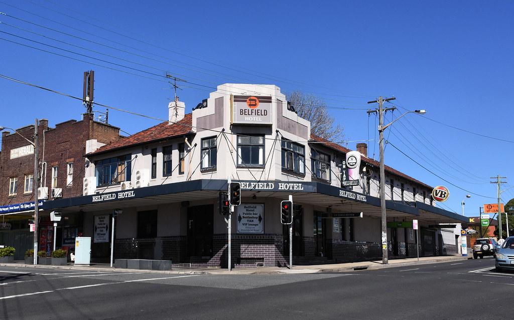 Belfield Hotel, Belfield, Sydney, NSW.