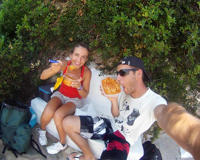 Comiendo de tupper en Menorca