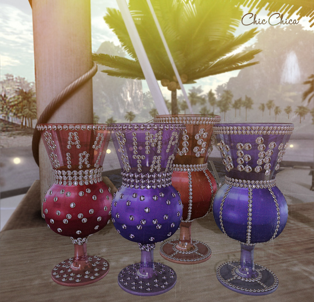 Pimp cups by ChicChica @ Collaborr 88, Bad Bitch round
