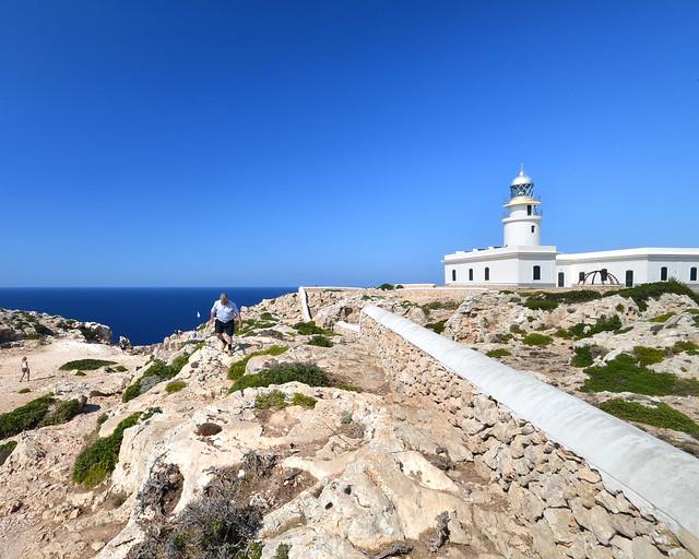 Faro de Cavalleria, uno de los lugares más bonitos que ver en Menorca