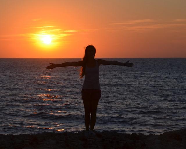 Mejor atardecer que ver en la isla de Menorca