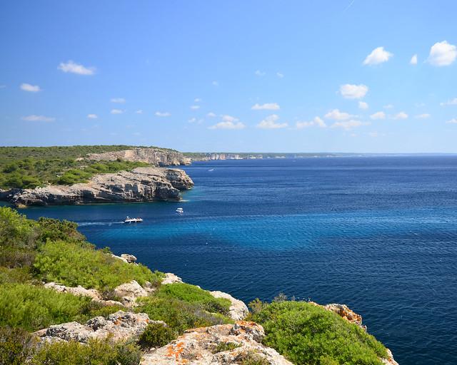 Costa Sur de Menorca desde el Cami de Cavalls