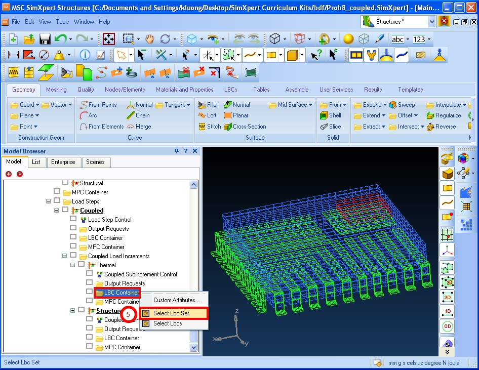 Working with MSC SimXpert 2020 full license