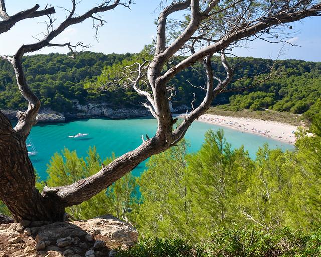 Lista com as melhores praias e enseadas de Menorca