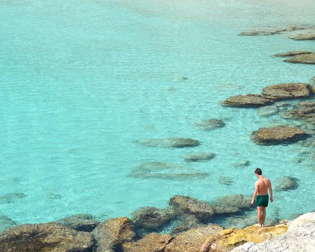 Uma das praias mais bonitas de Menorca