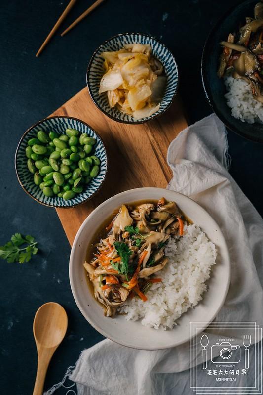 宅宅太太的日常,蠔油雞絲燴飯 @陳小可的吃喝玩樂