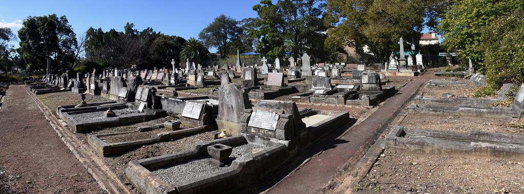 St Saviour's Anglican Church Cemetery, Punchbowl, Sydney, NSW.