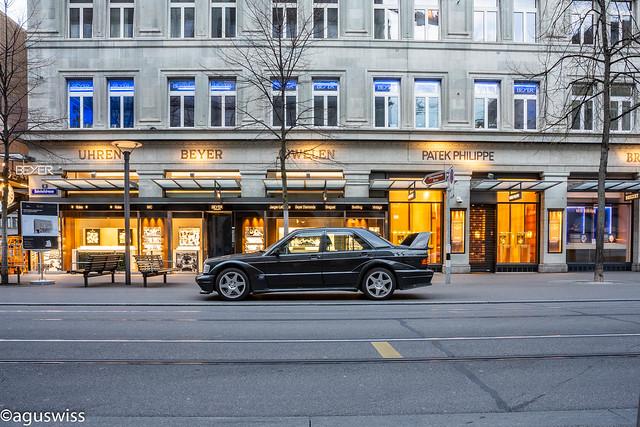Mercedes W201 190 Evo2