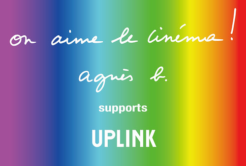 agnis b. supports UPLINK
