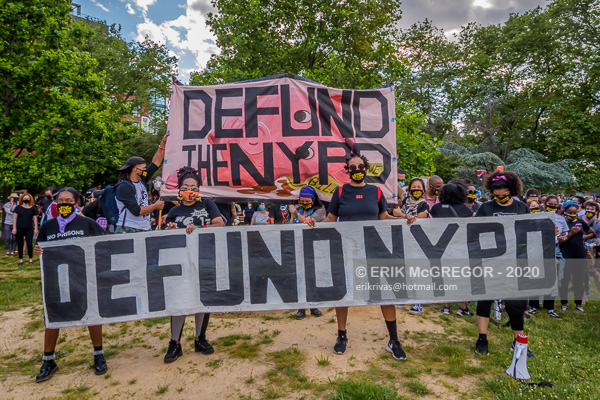 Thousands march demanding to Defund The Police