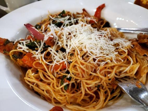 Novita Italian Cuisine pasta dish