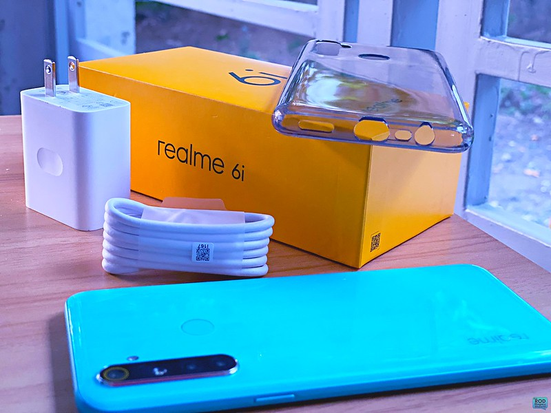 realme 6i blue soda 47 ROD MAGARU