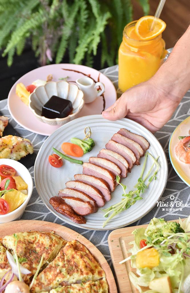 大里早午餐 晨光手做料理 義大利麵25
