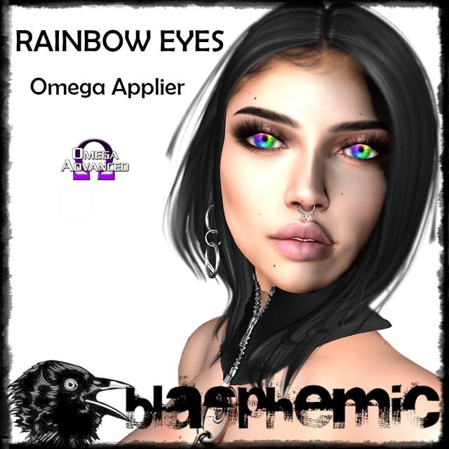 BLASPHEMIC RAINBOW EYES AD