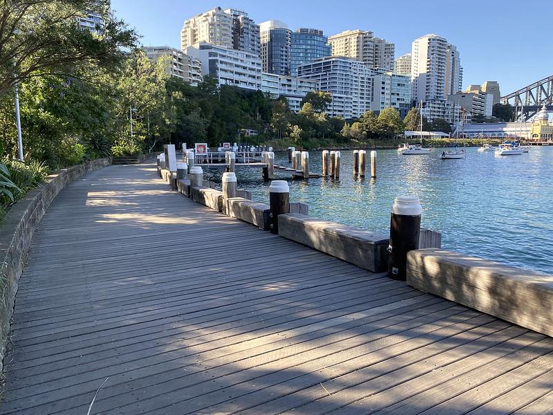 Lavender Bay boardwalk