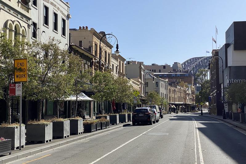 George Street, northbound