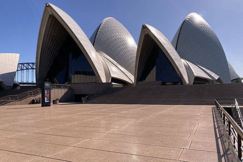 Opera House during COVID lockdown